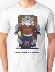 Cerberus, Guardian of the Supply Closet T-Shirt