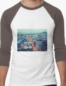 Powell Street at 6am Men's Baseball ¾ T-Shirt