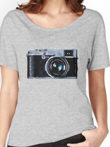 Watercolor Camera | Trendy/Hipster/Tumblr Meme Women's Relaxed Fit T-Shirt