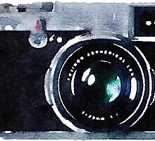 Watercolor Camera | Trendy/Hipster/Tumblr Meme by Vrai Chic
