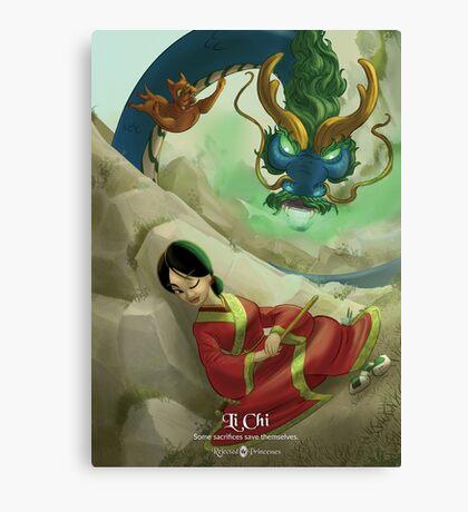 Li Chi - Rejected Princesses Canvas Print