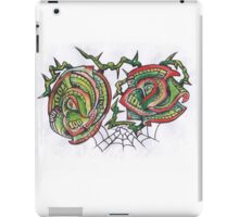 Money Roses and Spider web iPad Case/Skin