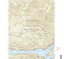 USGS Topo Map Washington State WA Rimrock Lake 243463 2000 24000 by wetdryvac