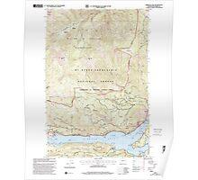USGS Topo Map Washington State WA Rimrock Lake 243463 2000 24000 Poster