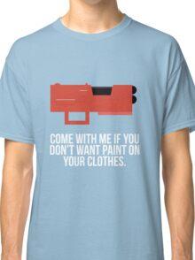 Community Paintball Print Classic T-Shirt
