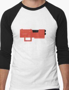 Community Paintball Print Men's Baseball ¾ T-Shirt