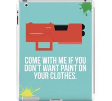 Community Paintball Print iPad Case/Skin