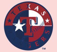 Texas Rangers Flag Logo Kids Clothes