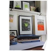 Drying Lines in Studio Poster