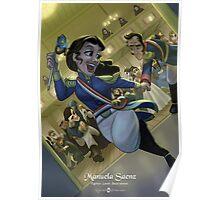 Manuela Saenz - Rejected Princesses Poster