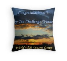 WWS Group - Challenge Entry Throw Pillow