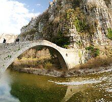 Old bridge by Nikolas Mavrikakis