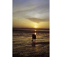 At the end of the day with Indy Photographic Print