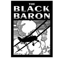 The Black Baron Photographic Print