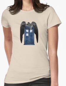 Weeping For The Doctor Womens Fitted T-Shirt