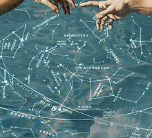 Star chart on sky by lexhert