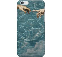 Star chart on sky iPhone Case/Skin