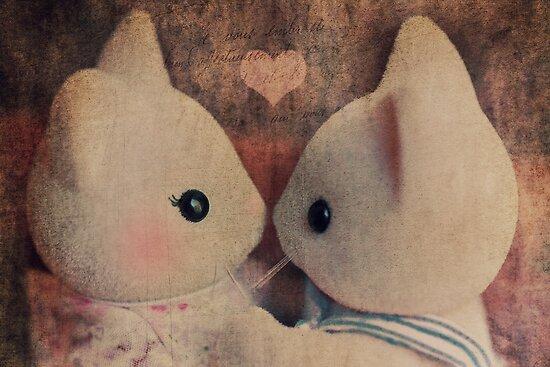 Kitty Kisses by Tangerine-Tane