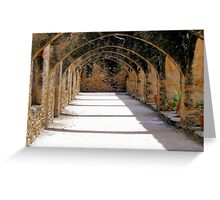 Arches at San Jose Mission Greeting Card