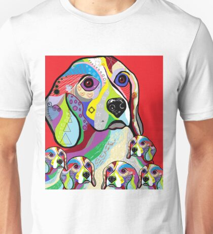 Beagle and Babies Unisex T-Shirt