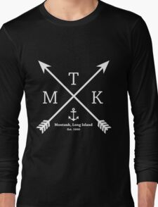 MTK with Cross Arrows  Long Sleeve T-Shirt