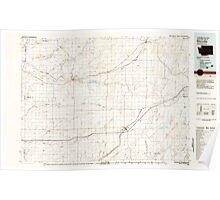 USGS Topo Map Washington State WA Ritzville 243475 1982 100000 Poster