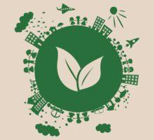 Grow Greens on Earth by Anastasiia Kucherenko