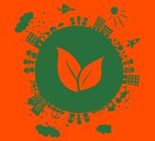 Grow Greens on Earth Kids Tee