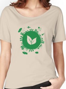 Grow Greens on Earth Women's Relaxed Fit T-Shirt