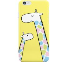 Giraffe family iPhone Case/Skin