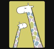 Giraffe family One Piece - Short Sleeve