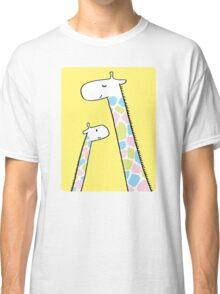 Giraffe family Classic T-Shirt