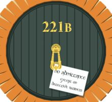 221B Bag End Sticker