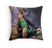 Serrure aka Kid!Loki Throw Pillow