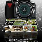 The Photography Birthday Greeting Card by Moonlake