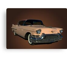 1957 Cadillac Sedan DeVille Canvas Print