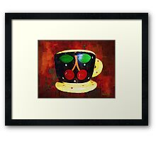 Cherry Espresso Framed Print