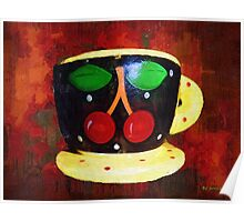 Cherry Espresso Poster