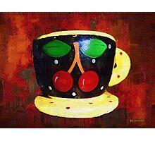 Cherry Espresso Photographic Print