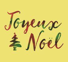 Joyeux Noël bokeh lights Baby Tee