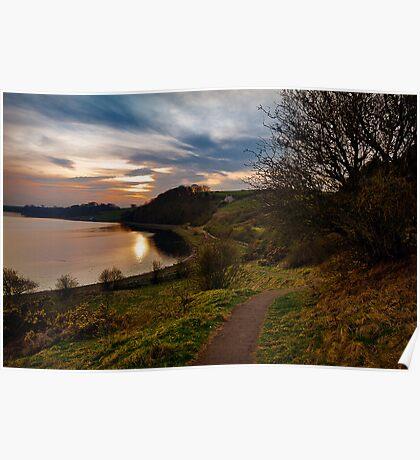 Tweed Sunset Poster
