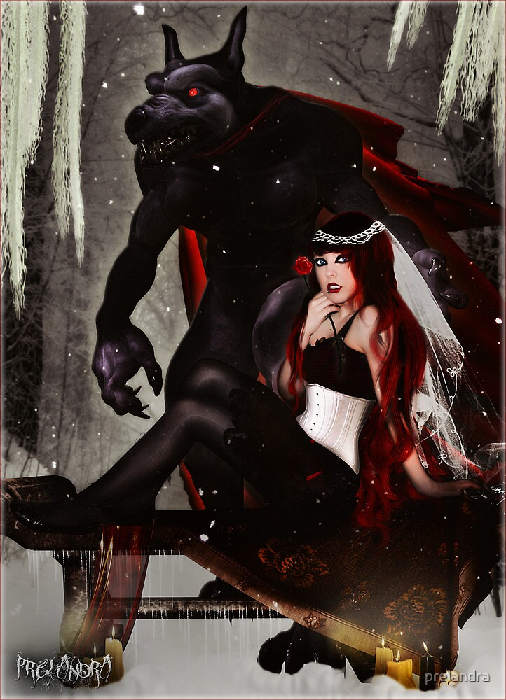 Red Beauty and the Beast by prelandra