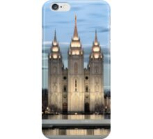 SLC Temple Blue iPhone Case/Skin