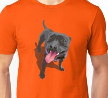 Staffie Red Unisex T-Shirt
