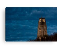 Medieval In Morningside Heights Canvas Print