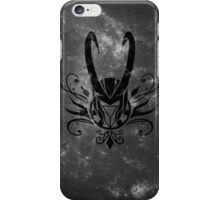 FrostIron Logo black iPhone Case/Skin