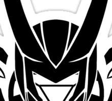 FrostIron Logo black Sticker