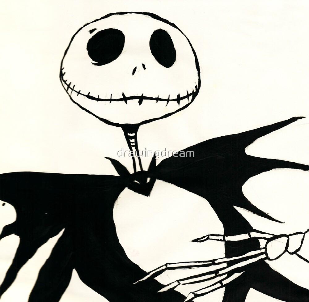 Jack Skellington by drawingdream