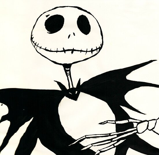 Jack Skellington by drawingdream