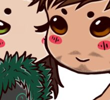 frostIron chibis Sticker